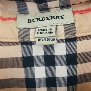 Authentic use Burberry dress for kids